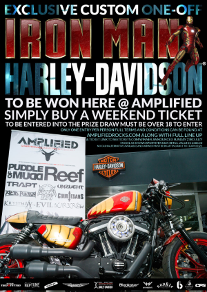 Amplified Harley Davidson Poster