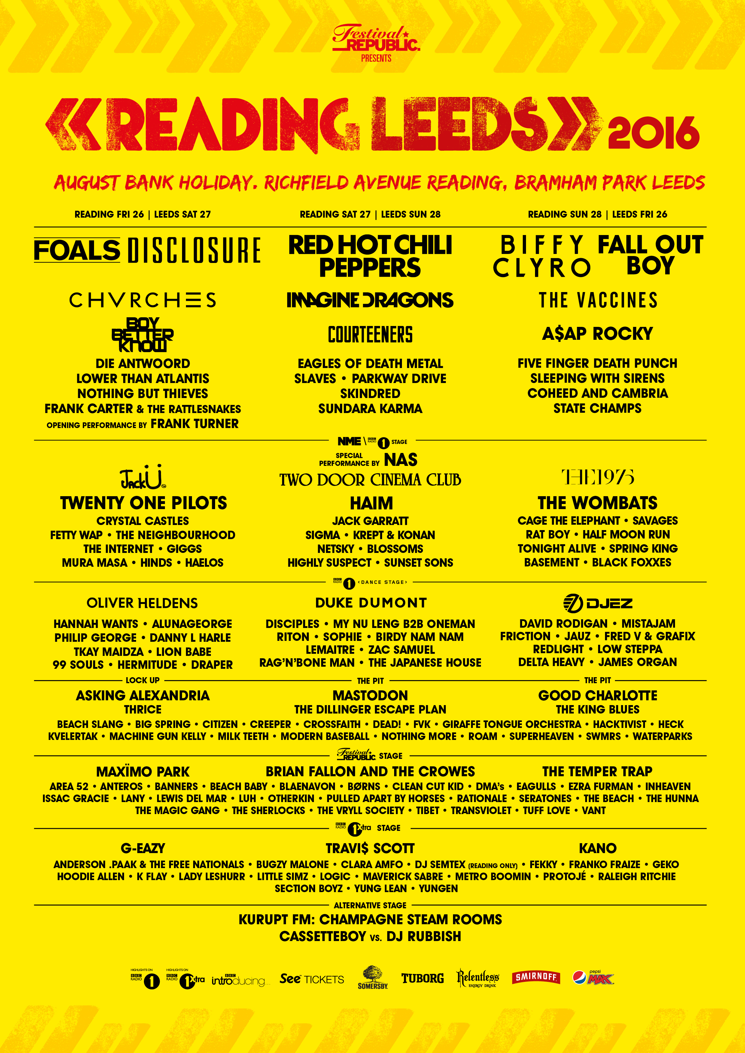ReadingLeeds 2016 A4 Line up 30