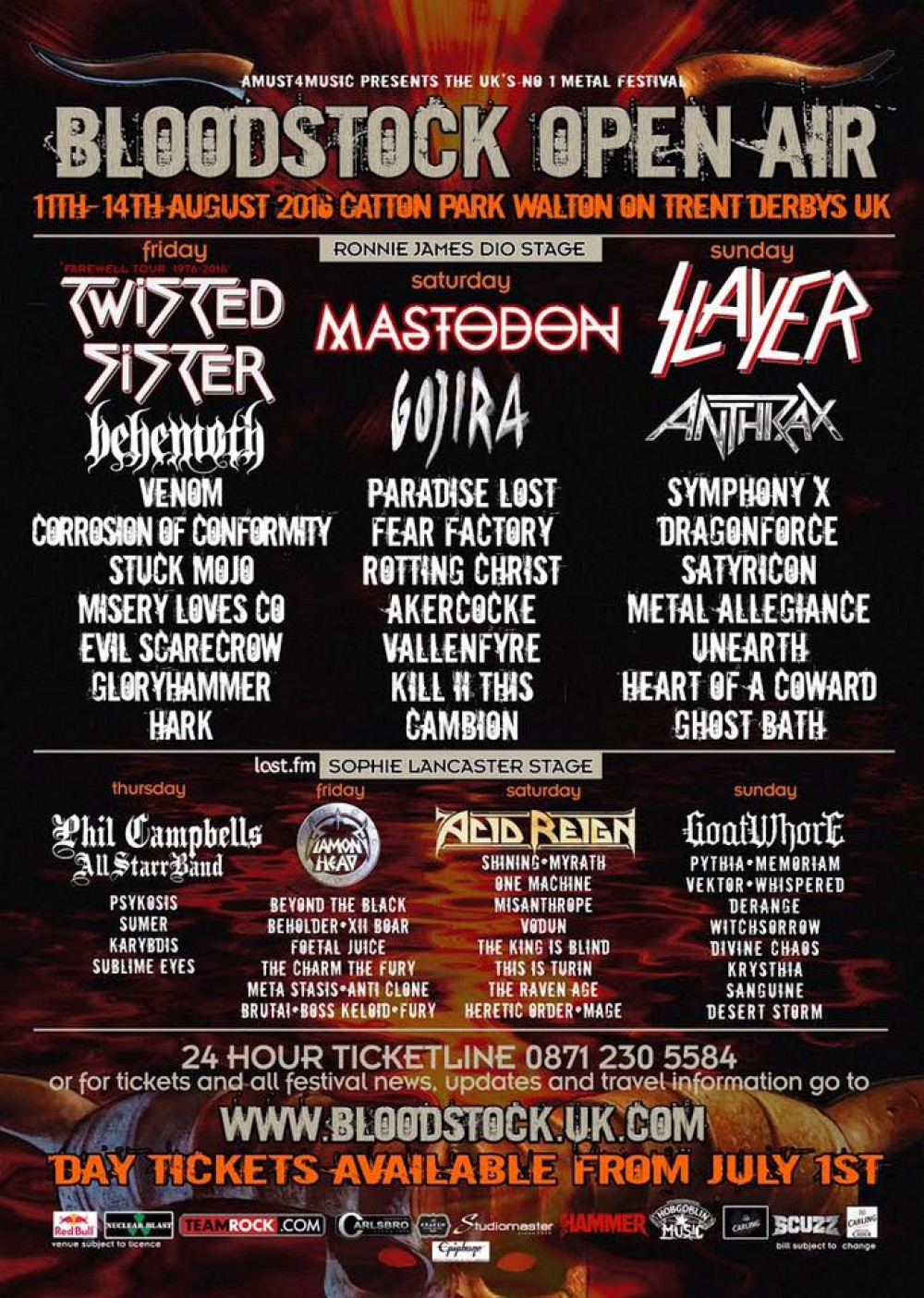 Just Over 4 Weeks To Bloodstock!!