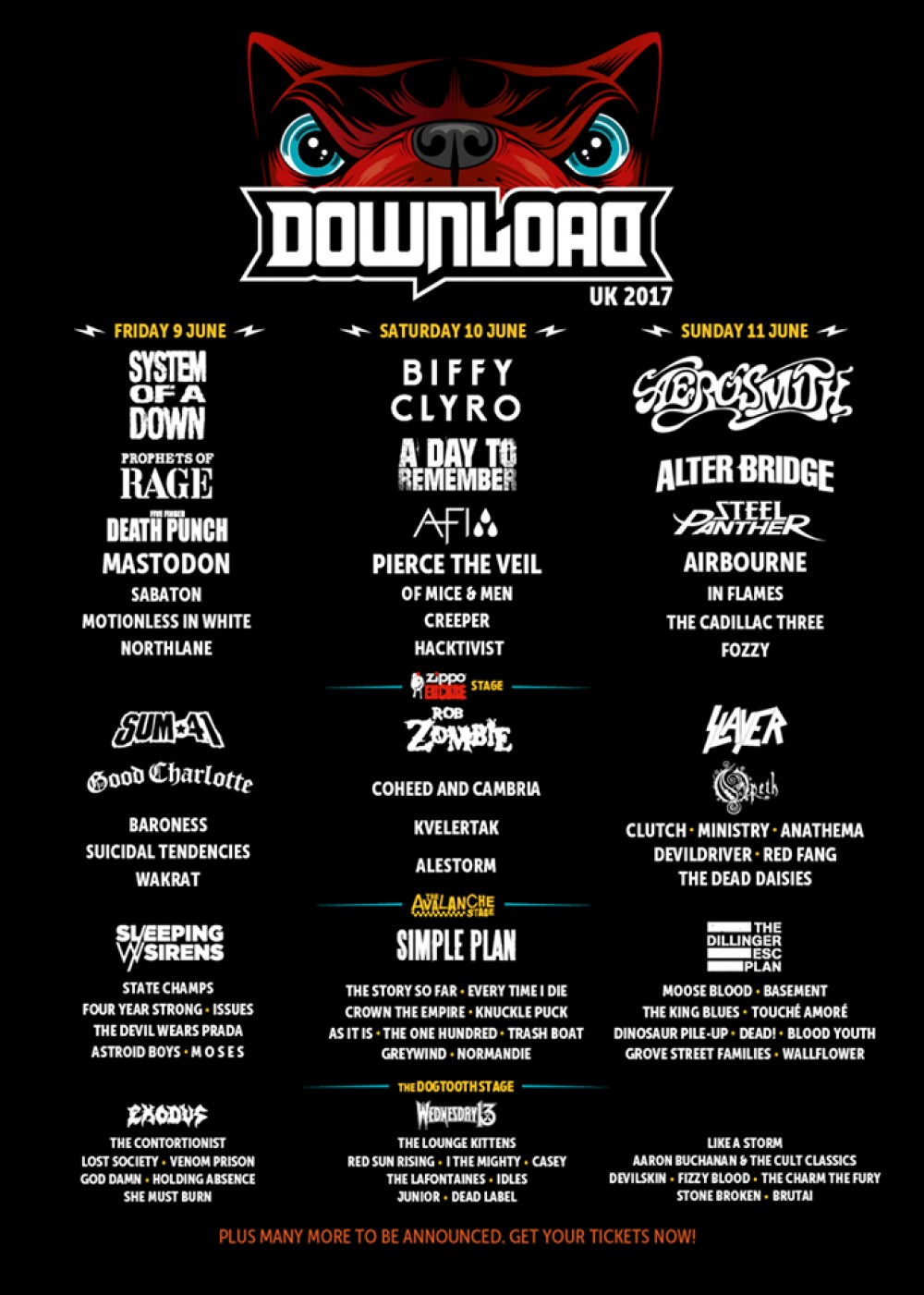 DOWNLOAD Festival adds even more bands to its line-up!