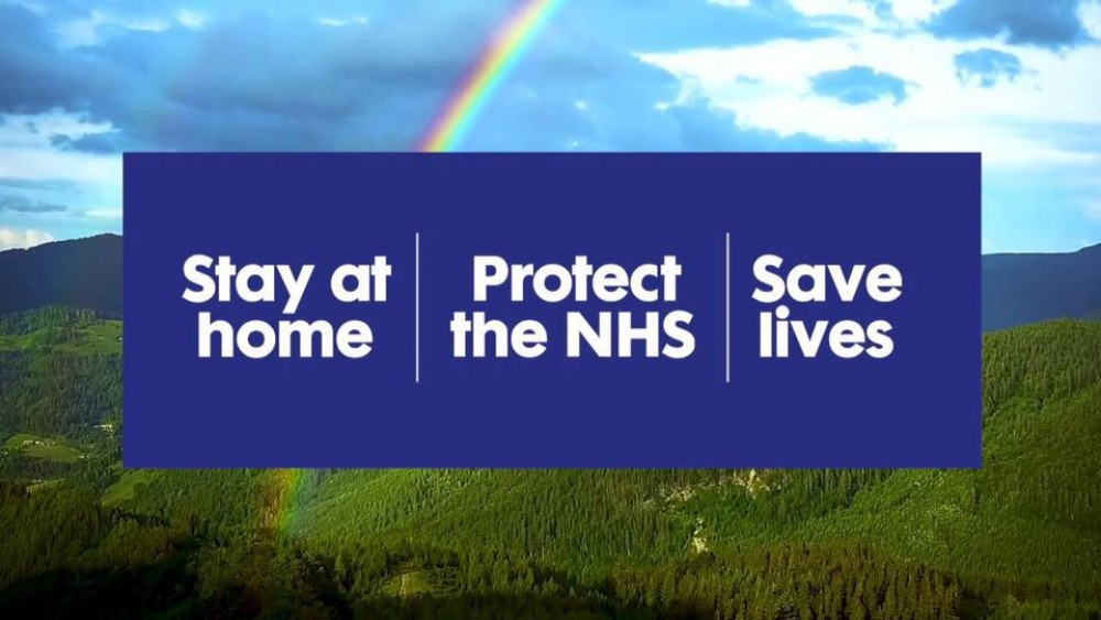 #STAYATHOME #PROTECTTHENHS #SAVELIVES